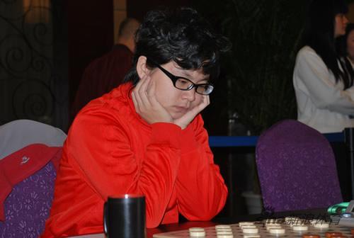 图文-智运会国际跳棋第3日赛场女子第一人史思璇